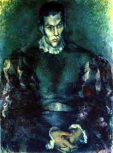 Павел Челищев. Портрет Сергея Лифаря (1929)