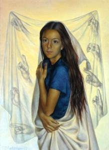 Павел Челищев. Портрет Рут Форд (1937)