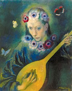 Павел Челищев. Китайская песня (1932)