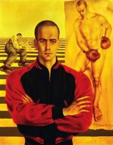 Павел Челищев. Портрет Линкольна Кирстена (1937)