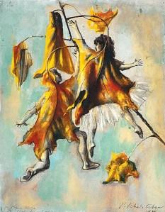 Павел Челищев. Дети-листья (1939)