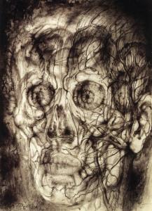 Павел Челищев. Прозрачная голова (1944)