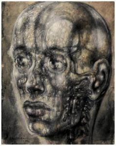 Павел Челищев. Анатомическая голова (1946)