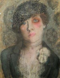Павел Челищев. Женский портрет