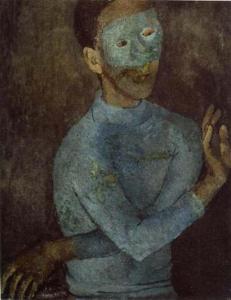 Павел Челищев. Человек в голубой маске