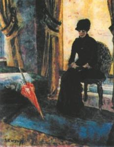 Джеймс Энсор. Темная дама (1881)