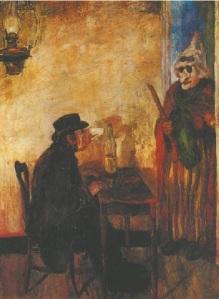 Джеймс Энсор. Скандализированные маски (1883)