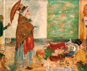 Джеймс Энсор. Удивление маски Воузе (1889)