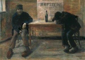 Джеймс Энсор. Пьяницы (1883)