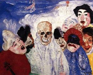 Джеймс Энсор. Смерть и маски (1897)