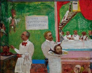 Джеймс Энсор. Опасная кухня (1896)