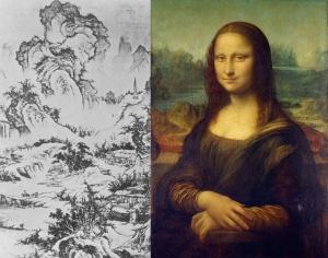 Го Си «Деревня на высокой горе» и Леонардо Да Винчи «Джоконда»