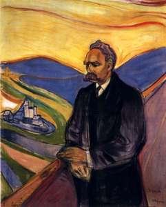 Эдвард Мунк. Портрет Ницше (1906)