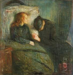 Эдвард Мунк. Больной ребенок (1886)