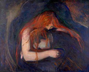 Эдвард Мунк. Вампир (1893)