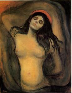 Эдвард Мунк. Мадонна (1894)