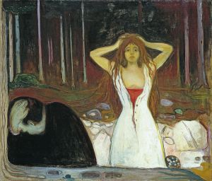 Эдвард Мунк. Пепел (1894)