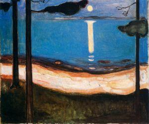 Эдвард Мунк. Лунный свет (1895)
