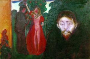Эдвард Мунк. Ревность (1895)