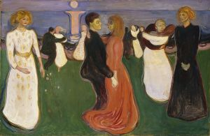 Эдвард Мунк. Танец жизни (1900)