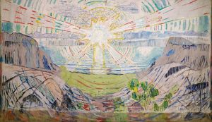 Эдвард Мунк. Солнце (1909-11)