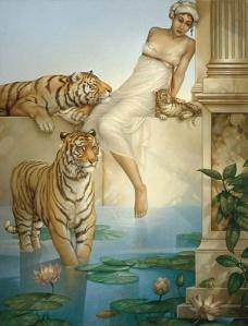 Michael Parkes. Indian Summer