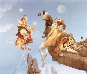 Michael Parkes. Maya