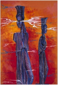Stor Dubine. The Black Caryatids