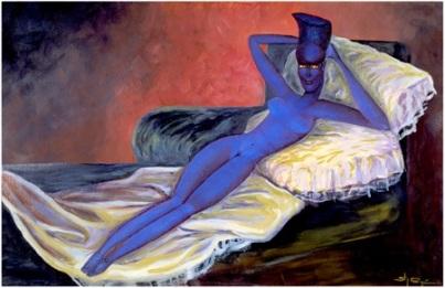 Stor Dubine. The Naked Maja